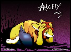 Anxiety by o-kemono