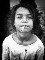 Little homeless girl 1 by BobRock99