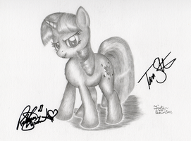 Twilight Is On To You Signed Twi-ce by KuroiTsubasaTenshi