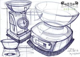 31/03/13 - Kitchen Scales by Razza10