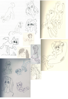 MLP Doodle by jUllEw0lF