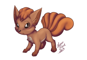 Vulpix by LupusSilvae