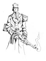 Bauhaus trooper by TheHorrorInSeed