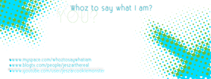 Whoz to say... Business card by Angellic-Designs