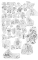 Ginourmous Sketch Doodle Page by raizy