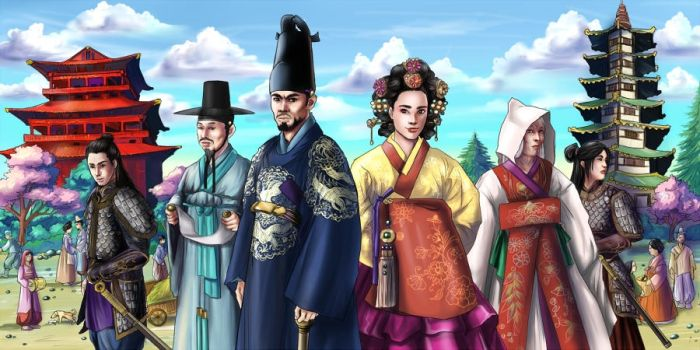 Koreans - Commission by Autumn-Sacura