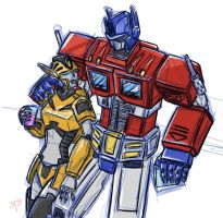 G1 Prime colored sketch by crimson-nemesis