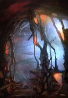 Cave by kaanbayur