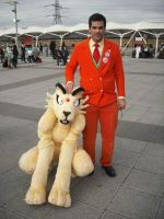 Giovanni, boss of TR with Persian fursuiter 2