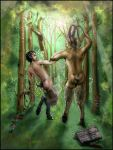 Hannibal collab - Satyrs by FuriarossaAndMimma