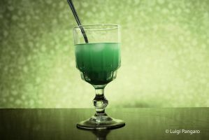 Absinthe In A Glass by squidge16