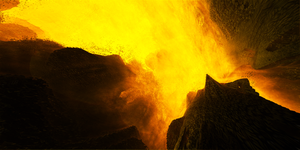 The heart of the volcano by KPEKEP