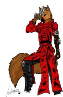 Vash the Wolfshunt final by Ulrich-Ironpaw