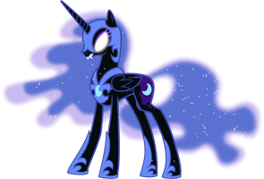 Princess Luna as Nightmare Moon by 90Sigma