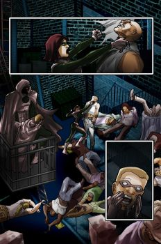Unmasked page 18 by johnnymorbius