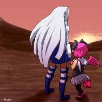 Disgaea 3 - Two ladies by RubyLee