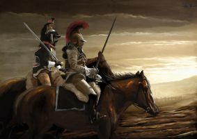 French Cavalry After the Rain by FilipeHattori