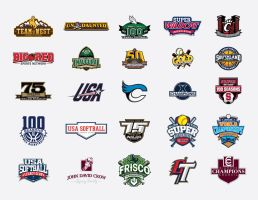 various sports related logos by Satansgoalie