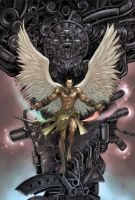 Dark Winged Angel by daxiong