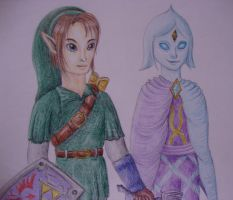 Link and Fi by Link-of-the-twilight