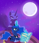 Luna Insparation by AlexRozeHedgehog