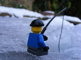 ice fishing I by mathijsvanrijnsoever