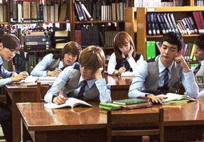 SHINee Library GIF by KimMinjung
