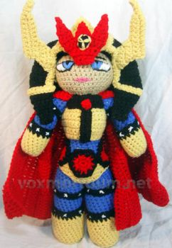 Big Barda - DC Comics Tribute Doll by voxmortuum