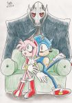 SonAmy: Did you hear that? by MrARTism
