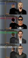 GAC Sims 3 and Billy Tolley by SailorMoon190
