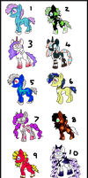Two Point Pony Adopts by Chickfila-Chick
