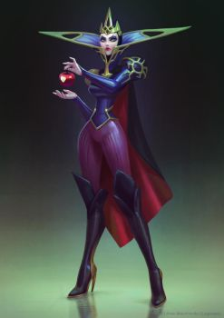 Evil Queen by Lagunaya
