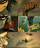 Gorillaz - Empire Ants by Syani