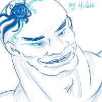 Ugly man by Helsic