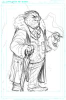 The Penguin WIP by KR-Whalen