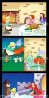 Cinderella Storybook Colors by mashi