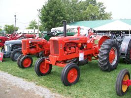 Allis-Chalmers WD45 and C by LDLAWRENCE