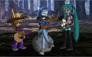 Guitar Heroines by HectorNY