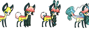 Claire Modes by griffsnuff