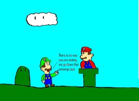 im not going down there by The-not-Mario-guy