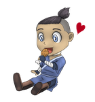 Chibi Sokka by Dreamfollower