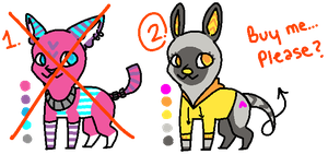Creature Adopts ~CLOSED~ by TinySauce