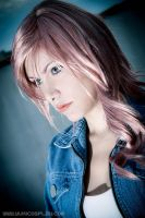 Lightning cosplay test 2 - FFXIII by Yukilefay