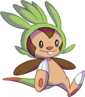 Chespin by MeoWmatsu