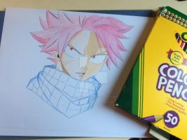 Fairy Tail: Angry Natsu Dragneel by Personaminato