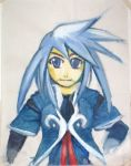 Rough portrait of Genis by ST-Attidude