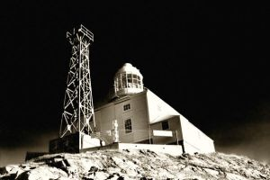 Bonavista Light House at Night by Witch-Dr-Tim