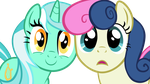 Lyra and bonbon see you by Scotch208