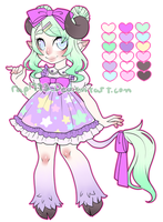 Melii-Morphiine Custom adoptable commission by rap1993