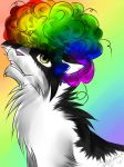 Oreos With A Rainbow Afro by DinofelizC